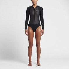 Женский гидрокостюм Hurley Fusion 202 Front Zip Springsuit Nike