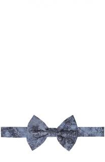 Хлопковый галстук-бабочка с узором Billionaire