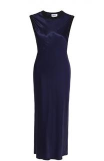 Приталенное платье-миди без рукавов DKNY