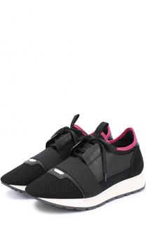 Комбинированные кроссовки с эластичной вставкой Balenciaga
