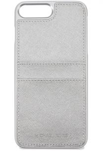 Чехол для iPhone 7 Plus из металлизированной сафьяновой кожи MICHAEL Michael Kors