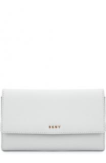 Кожаное портмоне DKNY