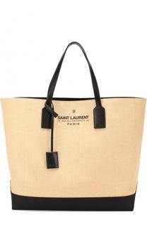 Текстильная сумка с логотипом бренда Saint Laurent
