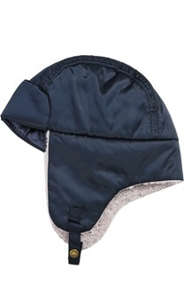 Шапка-ушанка с подкладкой из шерсти Giorgio Armani