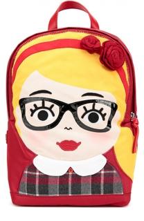 Рюкзак с аппликацией Dolce & Gabbana
