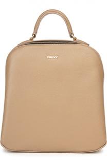 Кожаный рюкзак Chelsea Vintage Street small DKNY