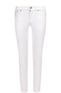 Укороченные джинсы-скинни с карманами Ralph Lauren