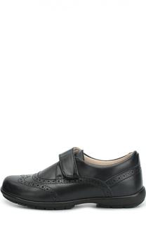 Кожаные туфли с перфорацией Beberlis
