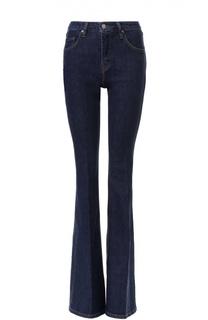 Расклешенные джинсы со стрелками Victoria by Victoria Beckham