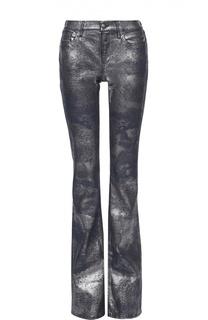 Расклешенные джинсы с металлизированной отделкой Ralph Lauren