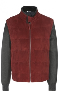 Замшевая куртка Andrea Campagna