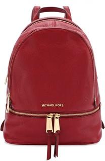 Кожаный рюкзак Rhea medium MICHAEL Michael Kors
