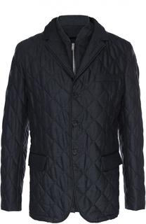 Утепленная шерстяная куртка на молнии Burberry