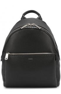 Кожаный рюкзак Selleria с внешним карманом на молнии Fendi