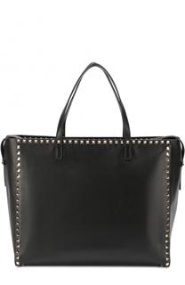 Кожаная сумка-тоут Rockstud Untitled Valentino