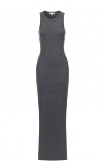 Приталенное платье-макси без рукавов James Perse