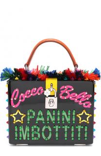 Сумка Dolce Box с декоративной отделкой Dolce & Gabbana