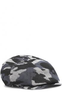 Льняное кепи с камуфляжным принтом Gemma. H