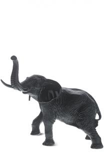 """Скульптура Black and White """"Elephant"""" Daum"""