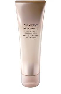 Очищающая пенка с кремовой текстурой Benefiance Shiseido
