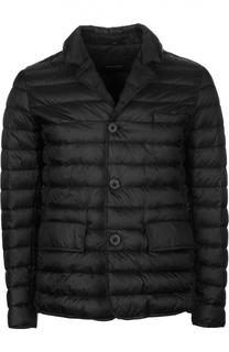Пуховая куртка с отложным воротником [C]Studio