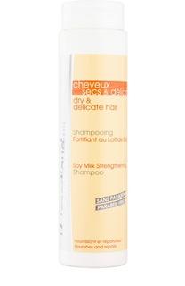 Укрепляющий шампунь с соевым молочком для сухих и тонких волос J.F. Lazartigue