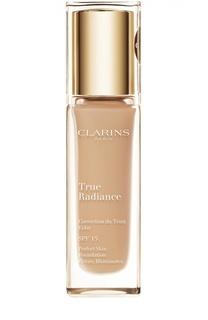 Тональный крем с эффектом сияния True Radiance SPF 15, оттенок 108 Clarins