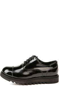 Лаковые ботинки с протектором Dsquared2
