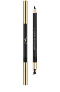 Водостойкий карандаш для глаз Dessin Du Regard, 01 Noir Volage YSL