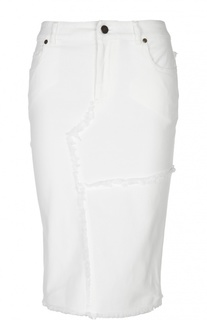 Джинсовая юбка-карандаш Tom Ford