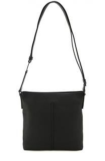 Кожаная сумка-планшет с внешним карманом Dior