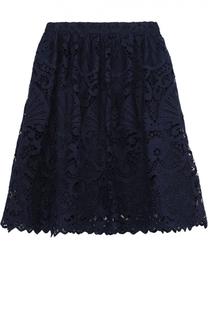Кружевная юбка-миди Alice + Olivia