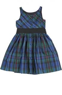 Платье с поясом Polo Ralph Lauren
