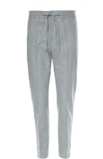 Шерстяные брюки с заниженной линией шага MSGM
