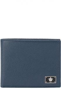 Кожаное портмоне с отделением для кредитный карт Dolce & Gabbana