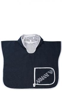 Комплект из полотенца и мочалки Giorgio Armani