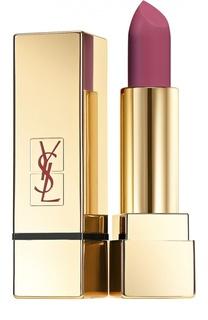 Помада для губ Lipstick Rouge Pur Couture The Mats, оттенок 207 YSL