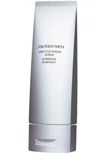 Скраб для глубокого очищения кожи Shiseido