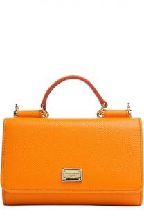 Кожаный чехол Mini Von для iPhone 6/6S Dolce & Gabbana
