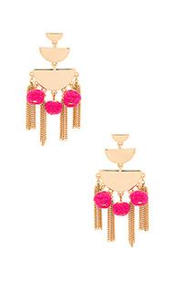 Triple tier chandelier earring - Rebecca Minkoff