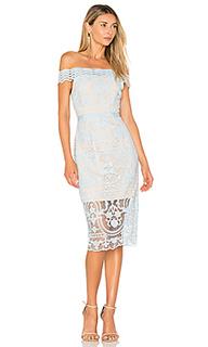 Платье со спущенными плечами padua - aijek