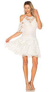 Платье с прорезями на плечах padua - aijek