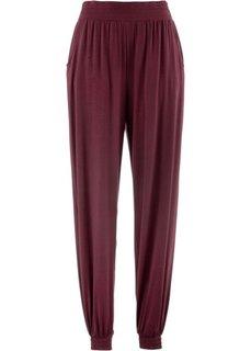 Трикотажные брюки-шаровары (кленово-красный) Bonprix
