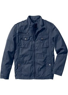 Хлопковая куртка Regular Fit (темно-синий) Bonprix
