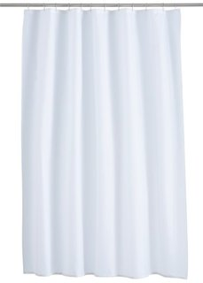 Штора для ванной Однотонная (белый) Bonprix
