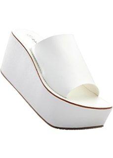 Пантолеты на платформе (белый) Bonprix