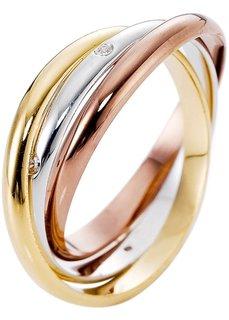 Кольцо Мурния (золотистый/серебристый) Bonprix