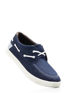 Кроссовки (синий джинсовый) Bonprix
