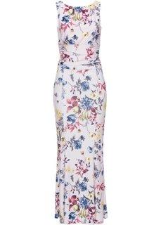 Платье с цветочным принтом (нежно-розовый в цветочек) Bonprix