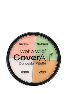 Корректоры Wet n Wild Корректоров Для Лица 4 Тона Coverall Concealer Palette Ж Набор E61462